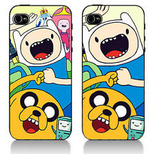 FINN & JAKE ADVENTURE TIME AMAZON FIRE PHONE  BACK COVER HARD CASE AND BEEMO BMO