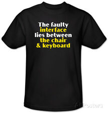 Faulty Interface T-Shirt Black
