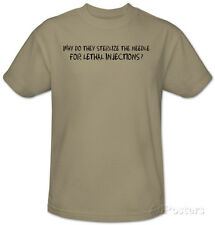 Lethal Injections T-Shirt Sand
