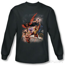 Long Sleeve: Justice League - Teen Titans No.1 T-Shirt