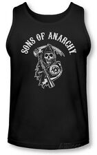 Tank Top: Sons Of Anarchy - SOA Reaper T-Shirt Black