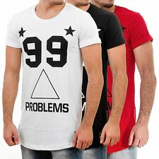 99 Problems 02 Basic Long T-Shirt Sixth June Homme Dance Party Swag Dope XS-XL