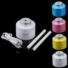 USB Mini Water Bottle Caps Humidifier Office Home Blue Pink White Yellow Colors
