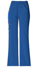 Dickies Scrubs Women's Cargo Pant 82012 Royal Blue RYLZ Dickies Xtreme Stretch