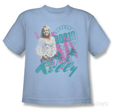 Youth: Beverly Hills 90210 - Kelly Vintage T-Shirt Light Blue