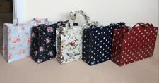 Handmade fashion zip day box bag (11 designs) using Cath Kidston Oilcloth fabric