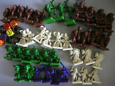 Multi-list Dungeon and dragons parker board game various Spares figures etc D&D