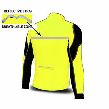 Softshell Wind Stoper Road Bike Bicycle  Cycling Jacket Top Thermal Full Saleeve