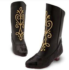 New Disney Store Frozen Anna costume Boots shoes size7/8 9/10 11/12 13/1 2/3