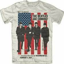 THE BEATLES - The Beatles Are Coming - T Shirt S,M,L,XL,2XL Brand New Official