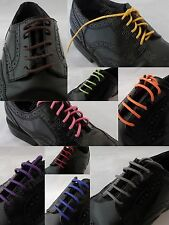 BUY 1 GET 1 50% OFF - Round Waxed Cotton Shoelaces Assorted Colors Dress Casual