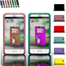 New For LG Optimus L90 Silicone Durable Smooth Rubber Soft Skin Cover Phone Case