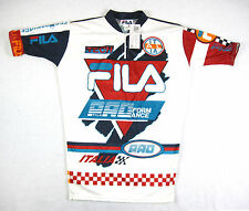 DEADSTOCK 90s VTG FILA PERFORMANCE CYCLING JERSEY sz L or XL Made In USA Bjorn