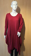 Ladies Italian Lagenlook COCOON Parachute OVERSIZED Long Dress Tunic 2 Pockets