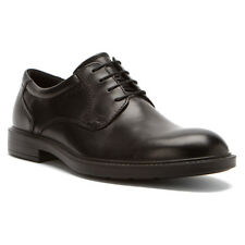 NEW -  ECCO Atlanta Plain Toe Lace Dress Shoes - Black Santiago - 61011421001