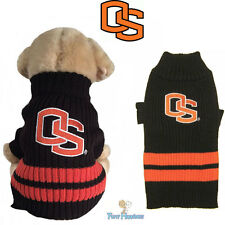 NCAA Pet Fan Gear OREGON STATE BEAVERS Sweater Coat for Dog Dogs Puppy