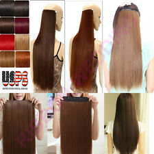 One Piece Remy Human Hair Extensions Clip in Elegant Celebration US SELLER F202