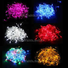 New 10M 20M 30M UK Electric Christmas Tree Party Wedding LED String Fairy Light