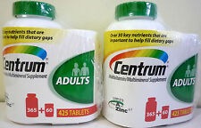 Centrum Complete Multivitamin Multimineral A-Z Adults under 50 425Ct x2