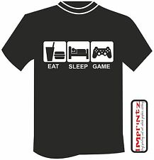 Eat Sleep Game Xbox Playstation Gamer birthday free postage xmas gift son dad