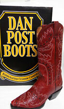 """ Lipstick"" Red Sidewinder ~Dan Post Ladies Cowgirl Boots 13"" Shaft DP3455"