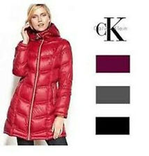 NEW Women's Calvin Klein Packable Light Weight Coat Jacket U PICK COLOR & SIZE