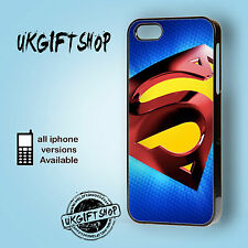 DC MARVEL HEROS SUPERMAN HARD BACK PHONE CASE APPLE IPHONE 4-4S/5/5S/5C/6 4.7""
