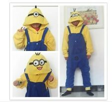 Despicable Me Minions Onesie Minion Cosplay Onesies Pajamas Fancy Dress Costume