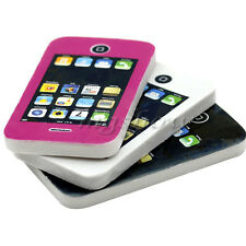 1Pc Mobile Phone Shaped Students Stationery Gift Toy Rubber Cute Pencil Eraser