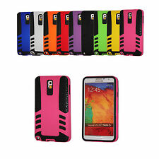 SLIM HYBRID IMPACT HARD CASE COVER FOR SAMSUNG GALAXY NOTE 3 N9000 PHONE PROTECT