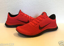 Mens NIKE Free 3.0 V5 Running Shoes 631063 600 Gym Red / Black - Sizes 10 - 13
