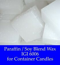 Paraffin - Soy Candle Wax - IGI 6006 - Blended Container Wax for Candle Making