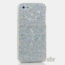 iPhone 6 6S / 6S Plus 5S Bling AB Crystals Case Cover Handmade Luxury Faceplate