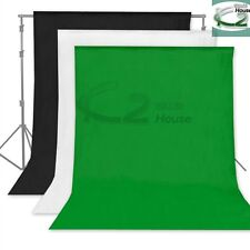 3 Color 5 Sizes Photography Vinyl Backdrop Studio Seamless Chromakey Background