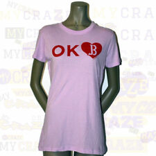 JUSTIN BIEBER Tour USA State Love Juniors OK Oklahoma T-Shirt