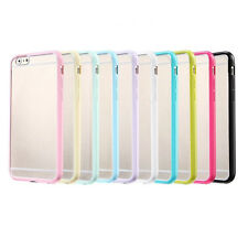 """Bumper Transparent Soft Skin Back Case Cover Protector For Apple iPhone 6 4.7"""""""