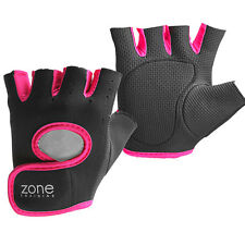 Pink Gym Ladies Weight Lifting Gloves Neoprene Training Womens Body Building