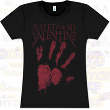 BULLET FOR MY VALENTINE Womens Black T-Shirt