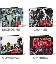 The Walking Dead Comic Original Michonne Zombies Charlie Splash Governor Wallets