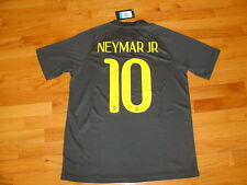 Brazil Away Third Neymar Jr #10 2014 version