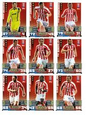 Match Attax 2014/15 Trading Cards (Stoke City-Base) 254-270