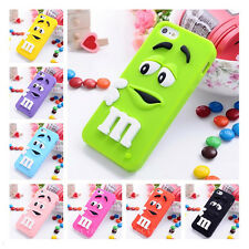 3D★Rainbow Chocolate Bean★TPU Gel Soft Case Cover For iPhone 6 6 Plus 5S 4S iPod