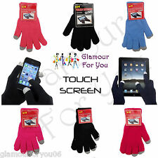 "Unisex ""Touch Screen"" Handschuhe Für iPhone iPad Smart Phone Texting Neu"