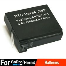 NEW Rechargable Battery for GoPro Hero 4  Black Silver Camera Accessory 1160mAh