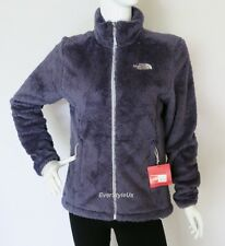 NWT THE NORTH FACE Suple Women's Fleece Jacket Osito Like Fleece Greystone