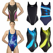 Head Liquid Power Swim Racing Training Tank One piece Swimsuit FINA Approved