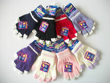 Boys Girls warm Knitted Glow in the Dark Magic Gloves Age 4-10 years