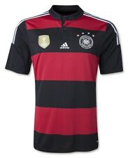 ADIDAS GERMANY 4 STAR AWAY JERSEY FIFA WORLD CUP 2014 CHAMPIONS.