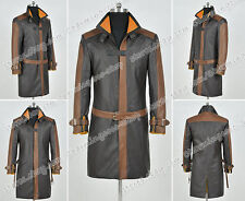 Watch Dogs Cosplay Hacker And Vigilante Aiden Pearce Costume Uniform Trench Coat