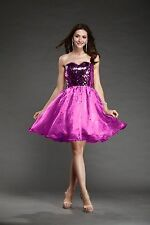 Newly Sequin Homecoming Bodice Short Bridal Prom Cocktail Party Evening Dress